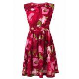 Lucy A-line Floral cotton dress