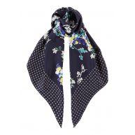MaxMara Gessati sjaal met dessin 90 x 90 cm