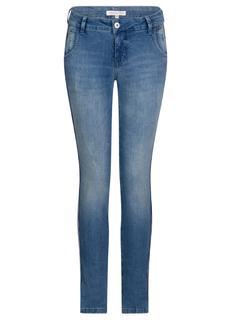 Jeans met Gestreepte Tapes