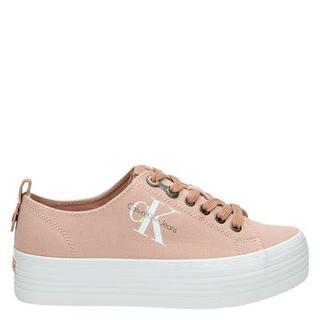 Zolah platform sneakers roze
