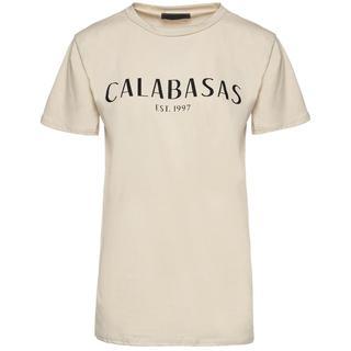 CALABASAS TEE BEIGE
