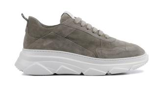 Dames Sneakers in Suede (Taupe)
