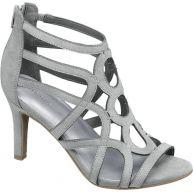Ellie Goulding collection Zilveren sandalette ritssluiting