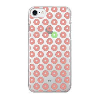 iPhone 7 Hardcase hoesje transparant Donuts 4 Everyone