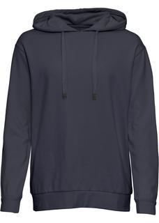 Dames hoodie lange mouw in blauw