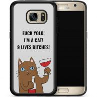 Samsung Galaxy S7 telefoonhoesje - Rebel cat