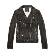 Scotch & Soda Leren bikerjack