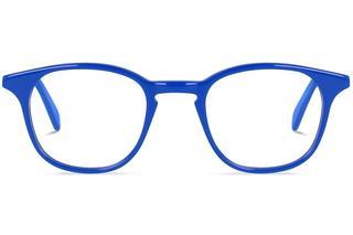 Clark | Yves Klein Blue Bril inclusief glazen op sterkte