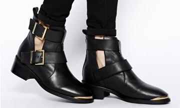 Oneindig combineren: Zwarte boots