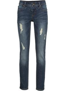 Dames stretch jeans in blauw