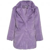 PURPLE FABULOUS FAUX FUR-M/L