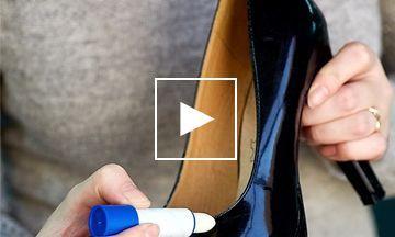 Libelle's Lifehack: Zó verwijder  je supersnel de krassen op je leren schoenen