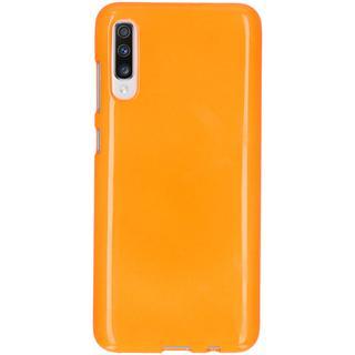 Neon Backcover voor de Samsung Galaxy A70 - Fluor Oranje