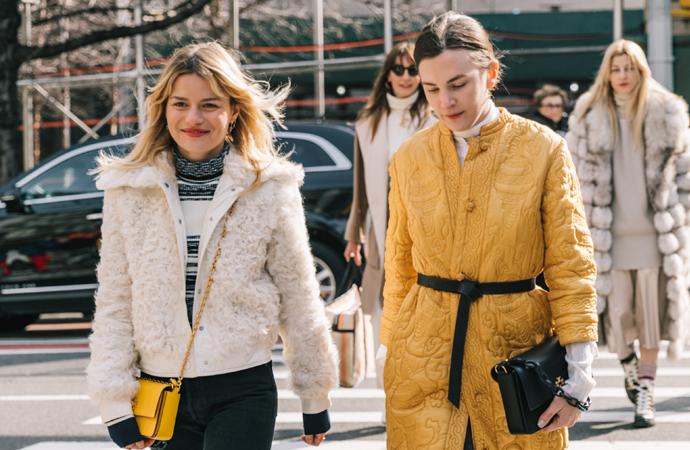 De mooiste streetstyle inspiratie van New York Fashionweek '18