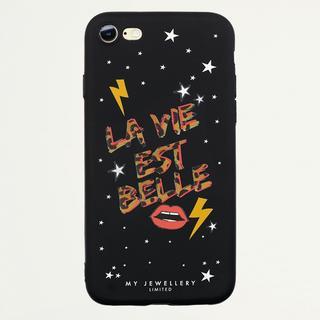 La Vie Est Belle Case Black - iPhone