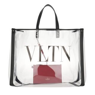 Shopping Bags - VLTN Plexy Shopping Bag PVC Transparent in zwart voor dames