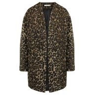 Leopard Jacket - Black/Brown