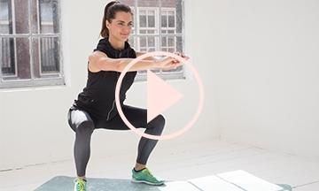 Dé 10 minute work-out voor je billen en benen