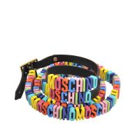 Double wrap Lettering Multicoloured Bracelet