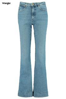 Dames Jeans Flare Blauw