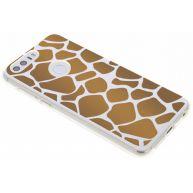 Bruin dierenprint design Giraffe TPU hoesje voor de Honor 8