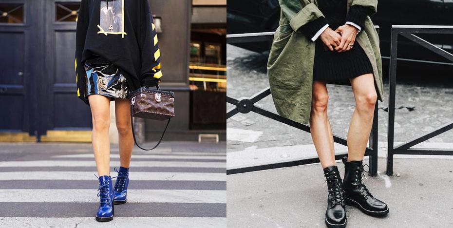 schoenentrends combat boots