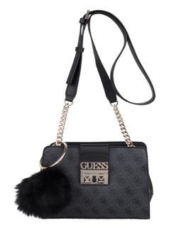 Handtassen Logo Luxe Crossbody Girlfriend Zwart