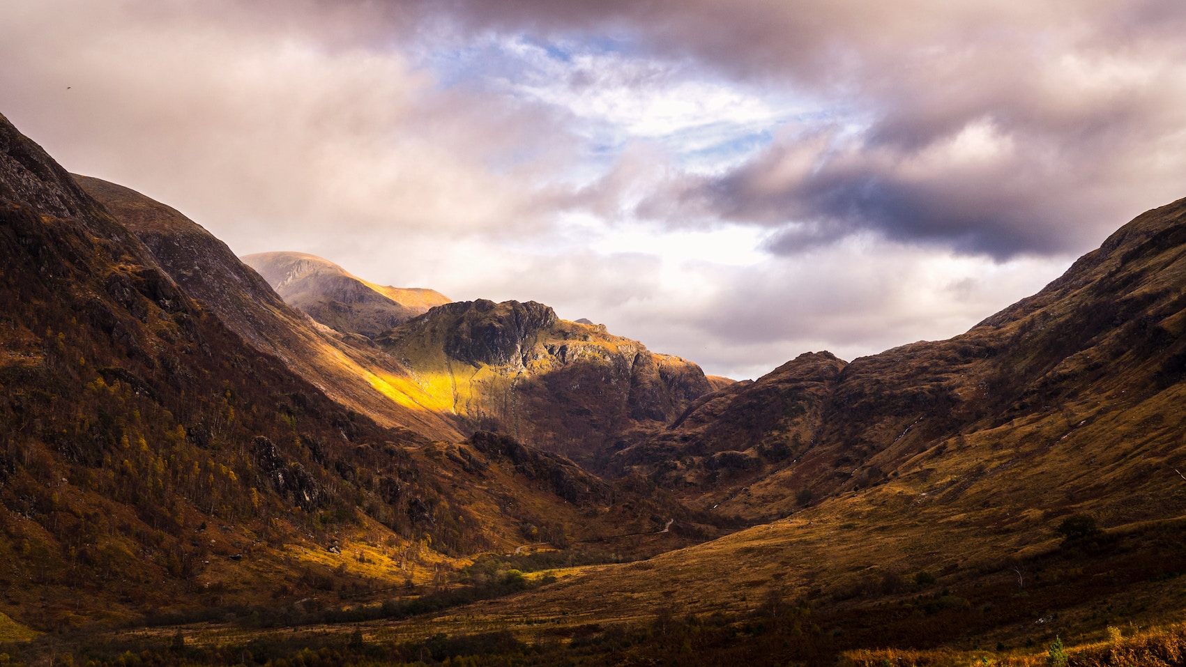 wandelingen in Schotland