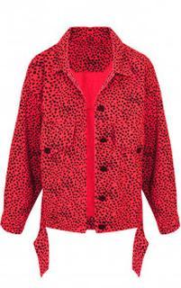 Cheetah Spijkerjas Rood