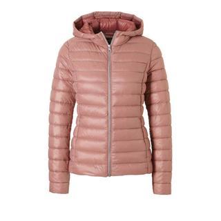 Yessica jas met dons roze (dames)