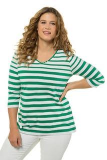 Shirt, classic, pima cotton, 3/4 mouwen - Grote Maten