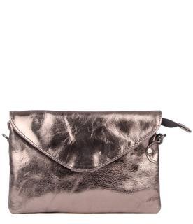 Clutches Bag Costa Metallic Zwart