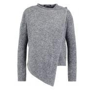 ONLY ONLTRUST Vest dark grey melange