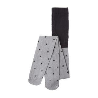 Panty met stippen - Mid Grey HTR