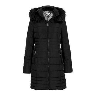 Regulier winterjas zwart