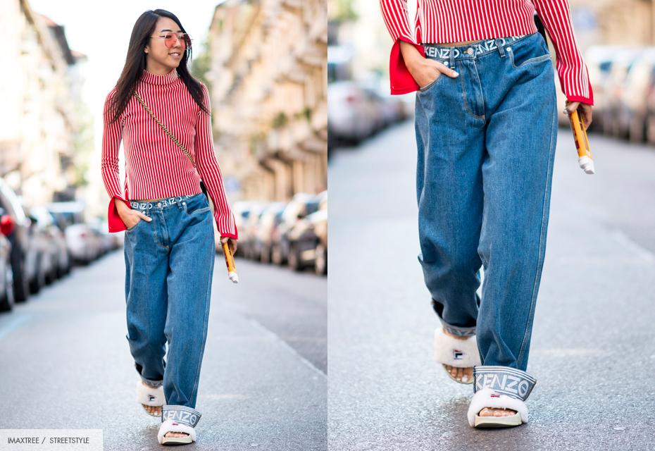 jeans oversized