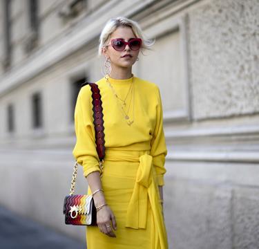 Geel: de kleur van deze zomer