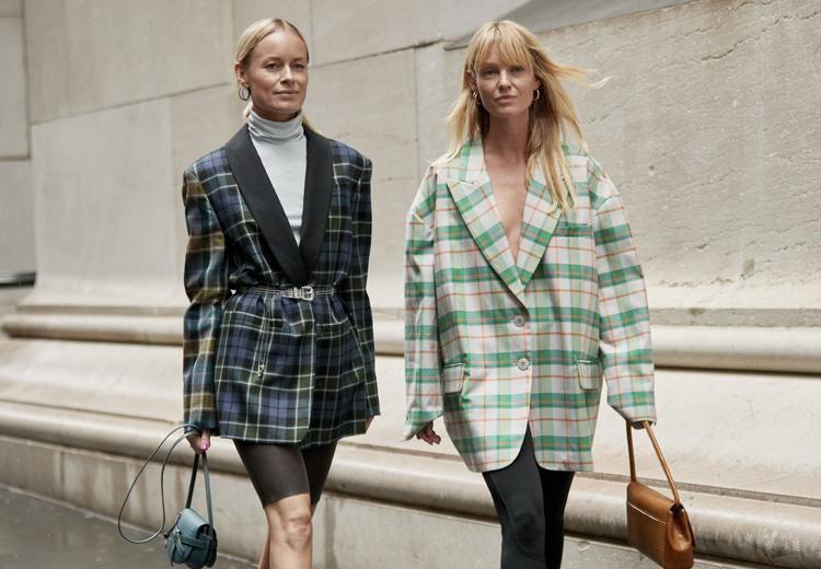 5 manieren om de geruite blazer te dragen