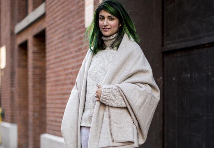 Draag deze winter een sjaal over je trui