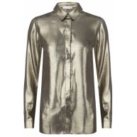 Beckett Blouse Gold Lurex