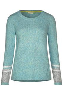 Flex-gebreide pullover
