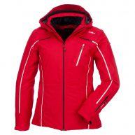 Campagnolo, ski-jas dames, rood