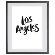 Los Angeles Quote Print