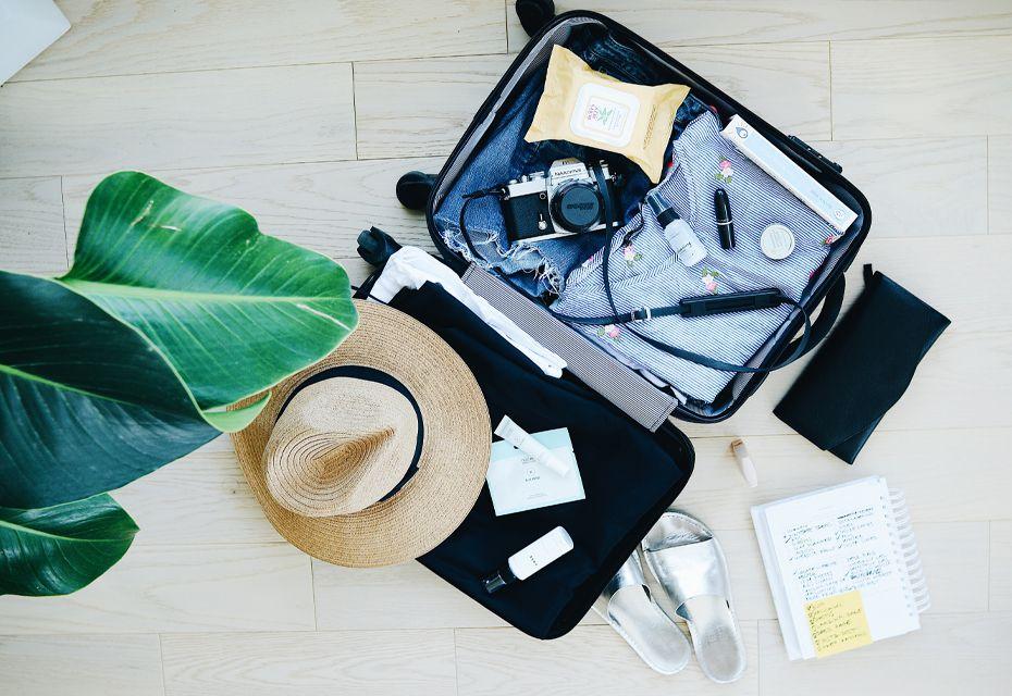 Koffer inpakken