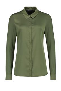 Xippe blouse olijf groen