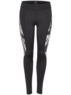 Bedrukte Sportlegging Dames Zwart