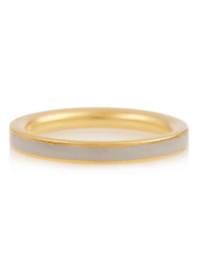 Nieuwe Aankomst Julie Sandlau Aya ring met 22k gouden plating Kopen Goedkope Outlet Locaties Klaring 2018 Nieuwe Goedkope Koop Verhandelbare Goedkope Winkel 6wFmctVIz