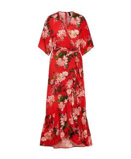 Zwart Rode Jurk.Rode Jurken Online Kopen Fashionchick Nl