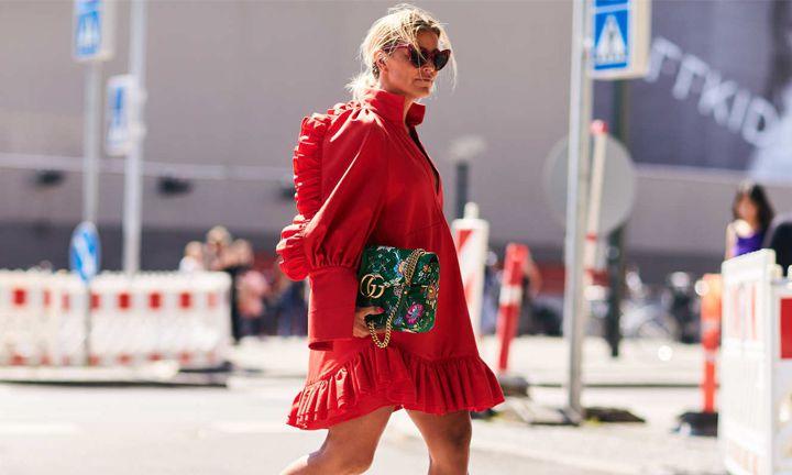Zo straal je in een rode jurk