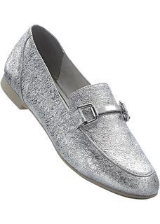 Dames instappers in zilver